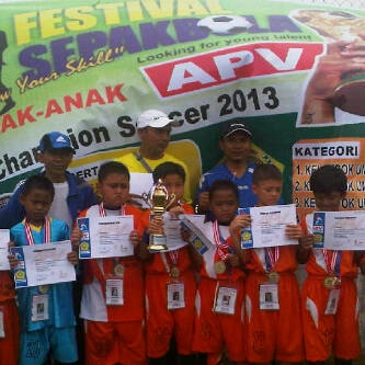 Erdeka Muda Juara APV Champion Soccer 2013