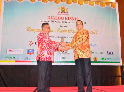 Rida K Liamsi Entrepreneur of The Year