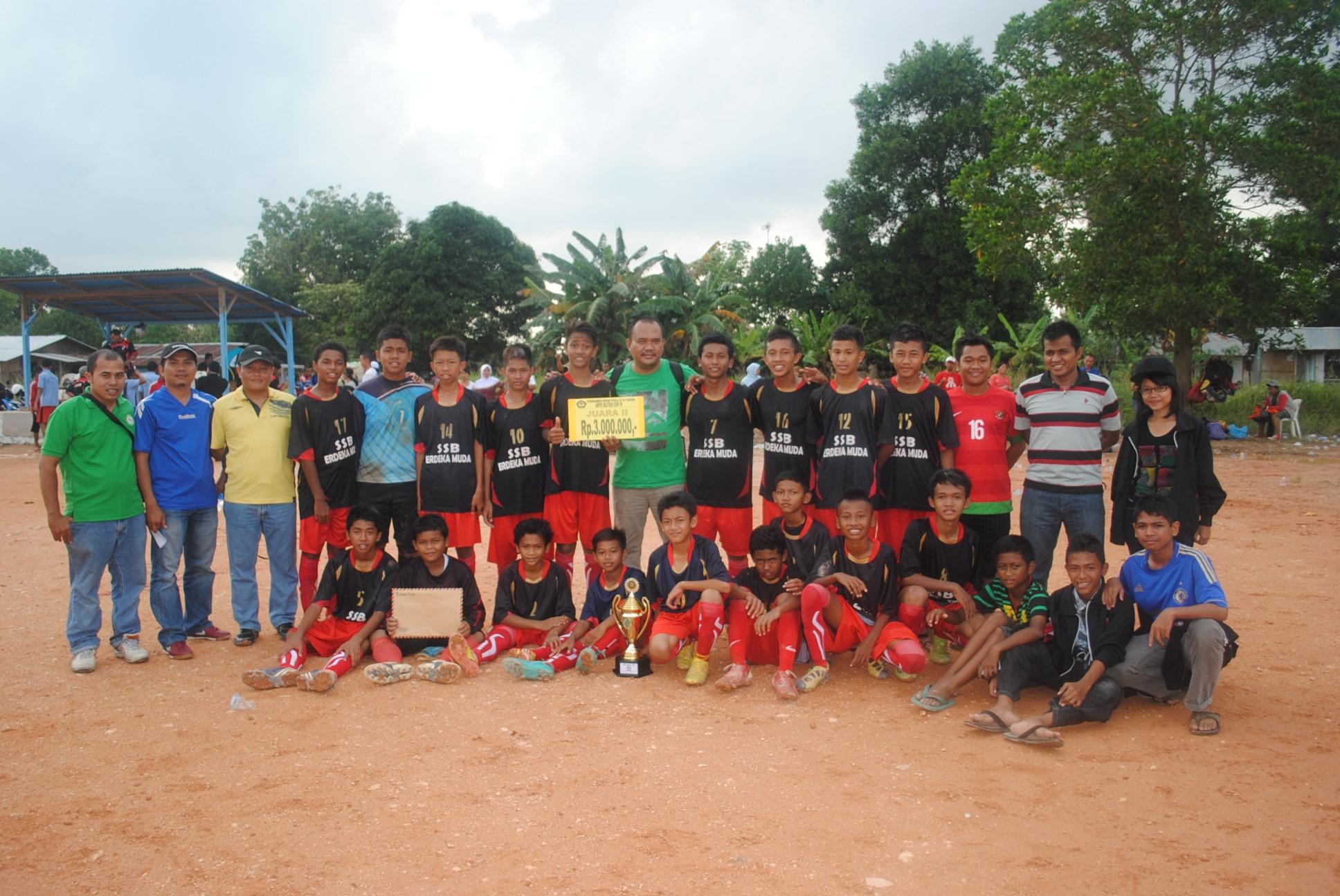 PAS Juara Aryo Blitar Cup 2013, Erdeka Muda Batam Runner Up