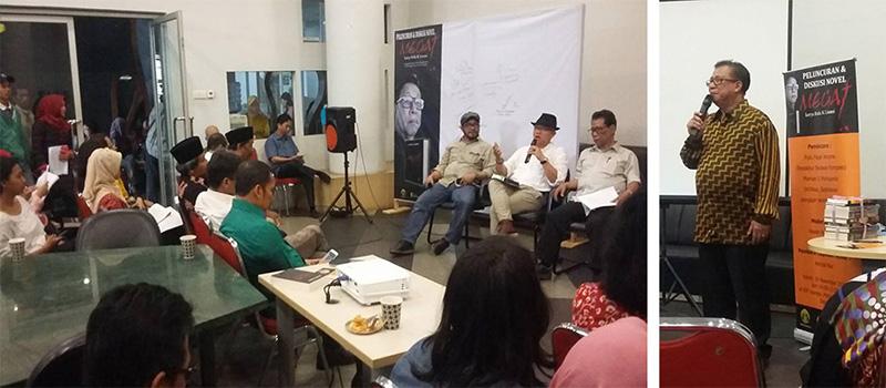 Megat, Novel Rida K Liamsi Diluncurkan