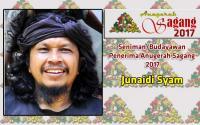 JUNAIDI SYAM  SENIMAN/ BUDAYAWAN PILIHAN SAGANG